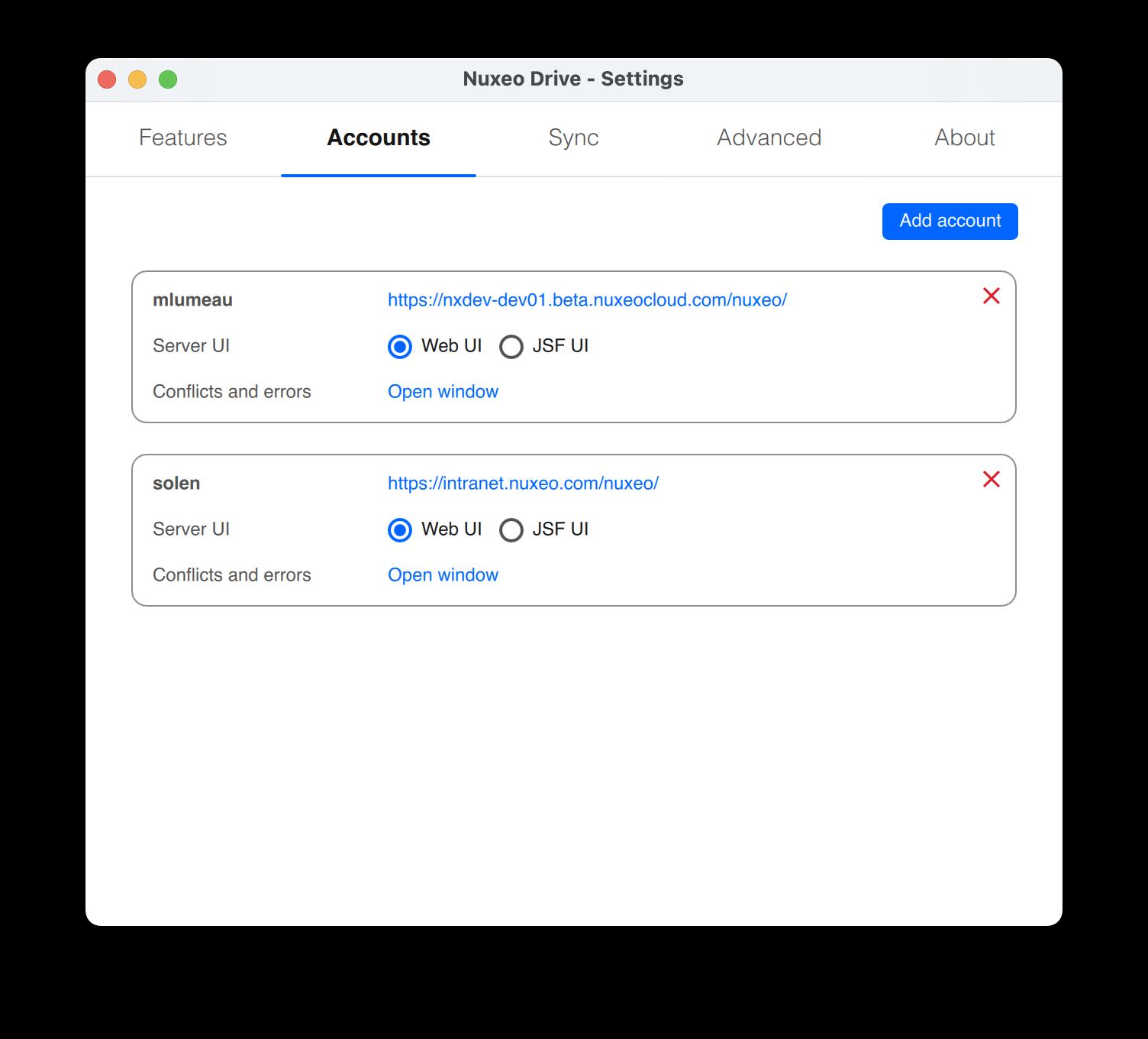 Nuxeo Drive Installation / Configuration | Nuxeo Documentation