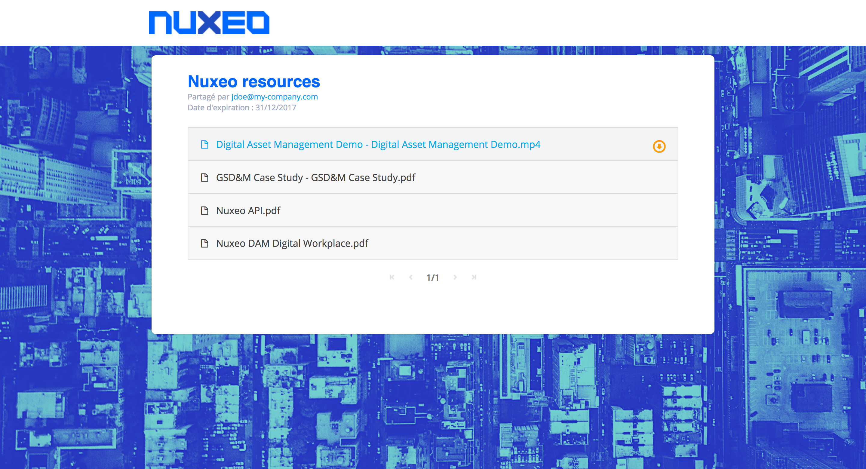 Nuxeo EasyShare