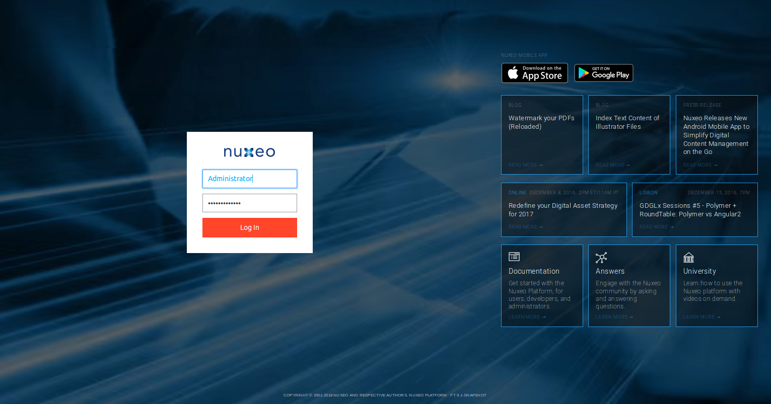 Authentication and User Management | Nuxeo Documentation
