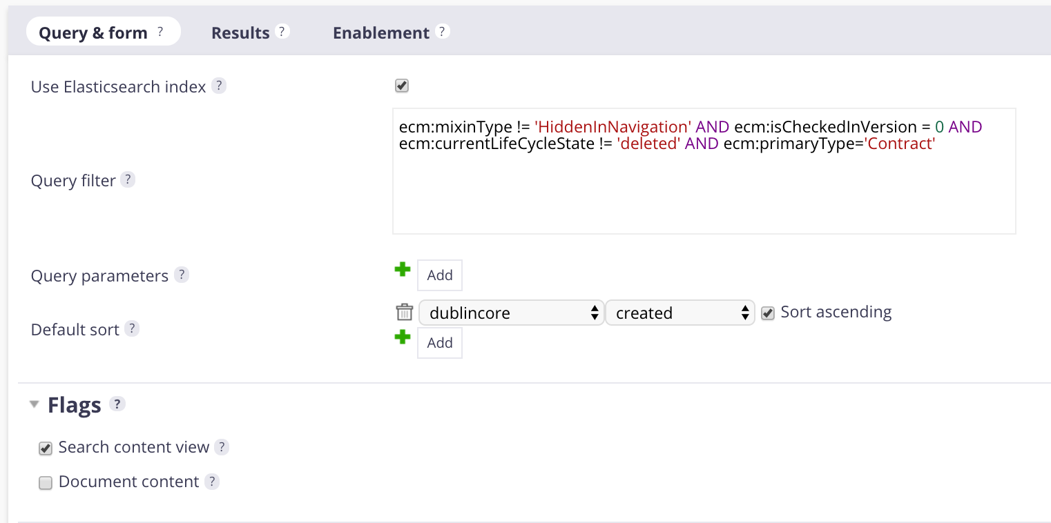 HOWTO: Configure a Search Filter With Facets and Other