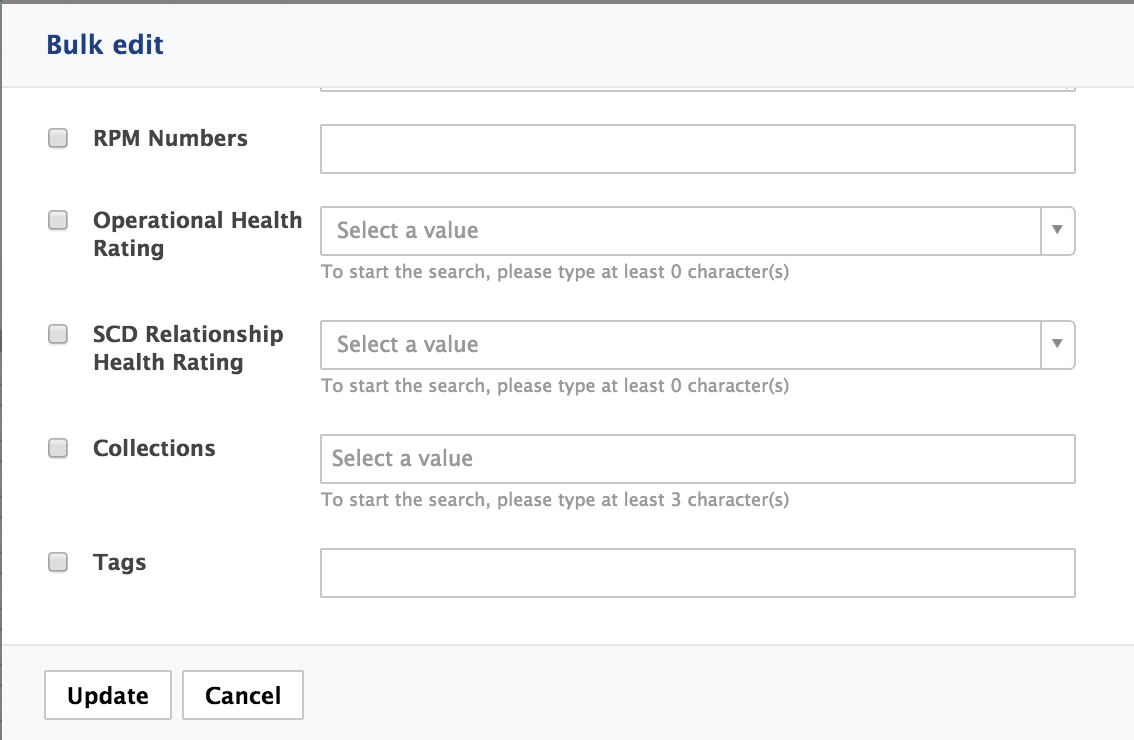 HOWTO: Customize the Bulk Edit Form - JSF UI | Nuxeo Documentation