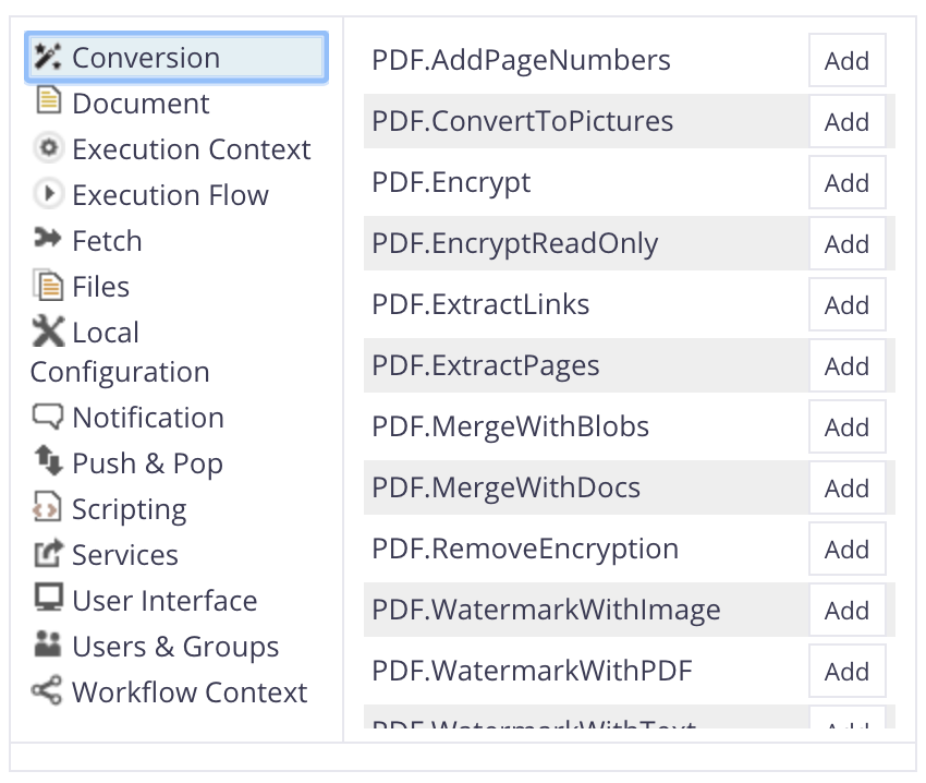 HOWTO: Use PDF conversion operations with Nuxeo Studio | Nuxeo