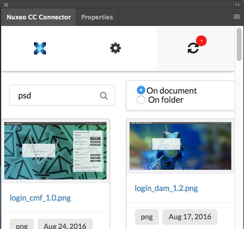 Nuxeo Adobe CC Connector | Nuxeo Documentation