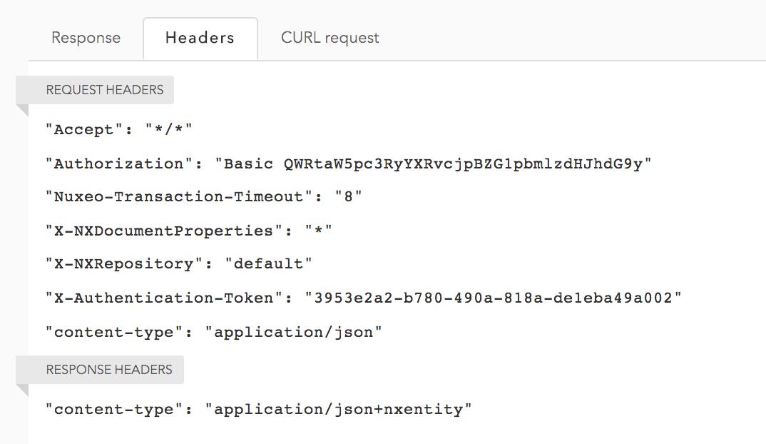Nuxeo API Playground | Nuxeo Documentation