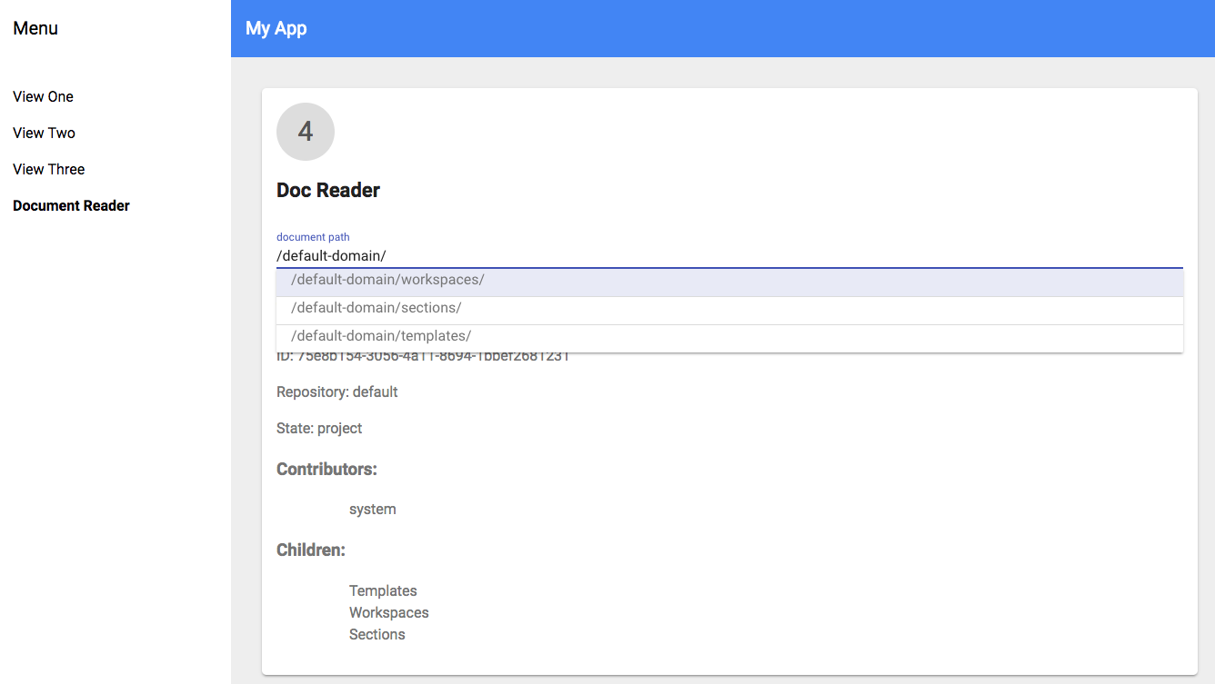 Customize Your App with Nuxeo Elements | Nuxeo Documentation