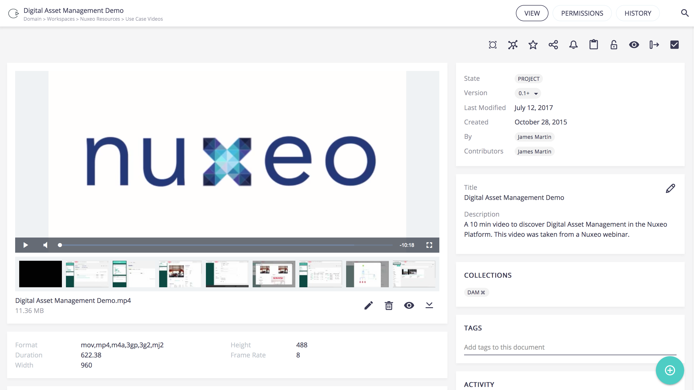 Web UI 9.2 video storyboard