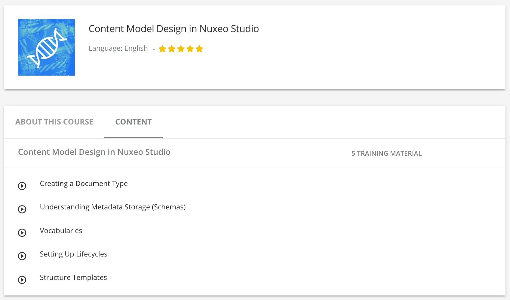 structure templates nuxeo documentation