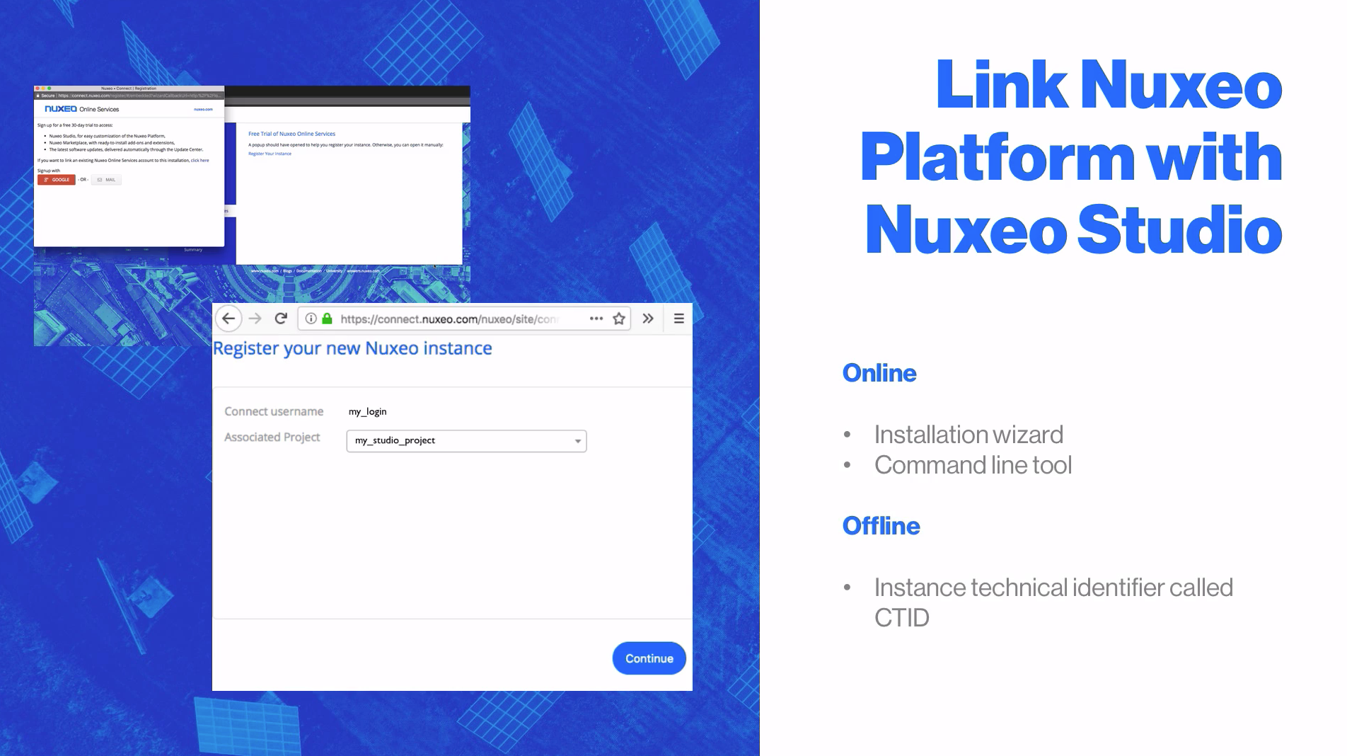 Registering your Nuxeo Instance | Nuxeo Documentation