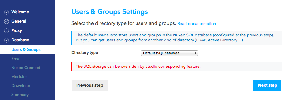 LDAP and Active Directory | Nuxeo Documentation