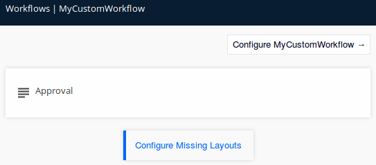 Configure Missing Layouts