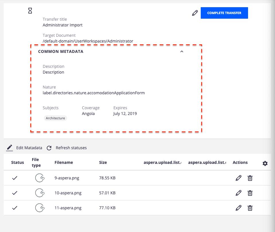 Nuxeo Aspera Connector | Nuxeo Documentation